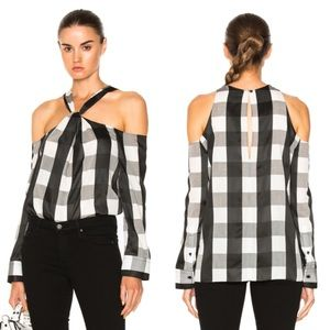 Rag & Bone Cullingwood Gingham Check Top